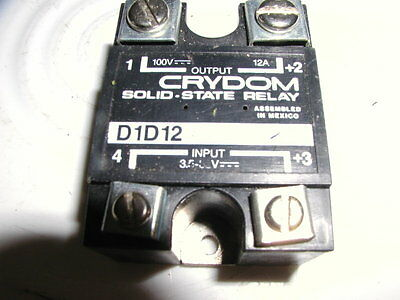 Crydom D1D12 Solid State Relay