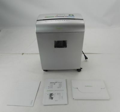 GoECOlife GMW101Pii - Limited Edition 10-Sheet Microcut Paper Shredder - Silver