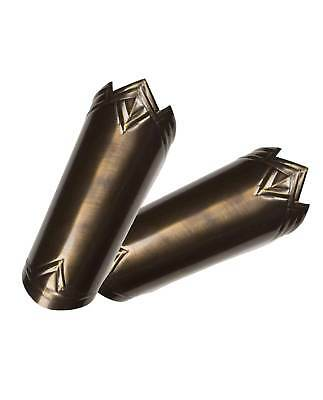 Women's Arm Cuffs Costume Accessory Wonder Woman Bronze Metal Warrior Royalty