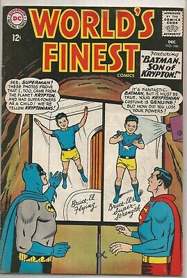World's Finest #146 DC (1964) Silver Age Comic FN+/VF- (+ Superboy Reprint)