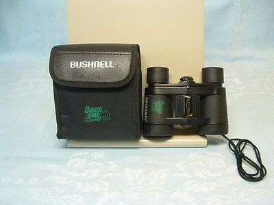 Bushnell Quaker State Oil Advertising Car Racing Insta Focus Binoculars 4x30