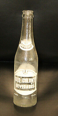 Salisbury NC Old Colony Beverages 10 oz ACL Soda Bottle