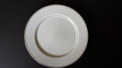 Simplicity Fine China Salad Plate with Silver Bands of Trim made in Japan