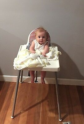 IKEA Antilop High Chair with Harness And Cushion