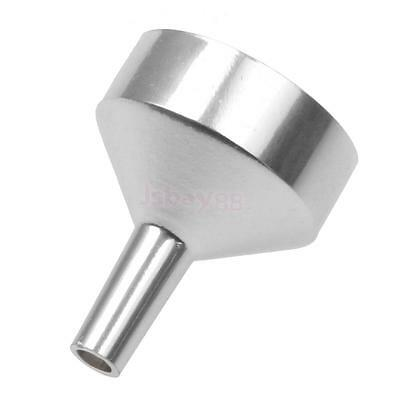 Small Mini Silver Metal Filling Funnel for Atomizers, Vials, Small Bottles NEW