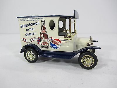 Vintage Pepsi Piggy Bank Diecast Model Delivery Truck With Key 1993