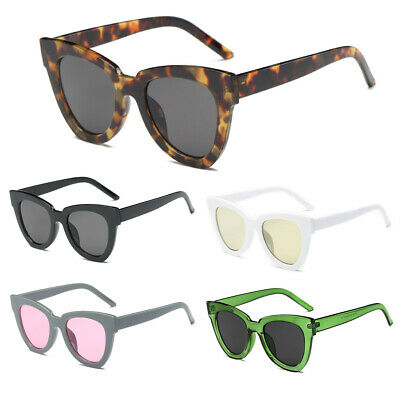 Women Lady Retro Cat Eye Sunglasses Designer Square Frame Eyeglass Shades
