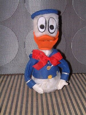 Vintage Clockwork Donald Duck Who Moves, Quacks And Opend His Mouth!