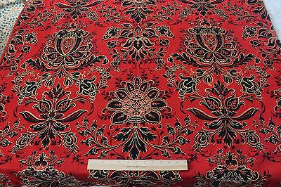 Antique French (Paris) Napoleon III c1850 Wool Jacquard Home Fabric Panel~Frame*