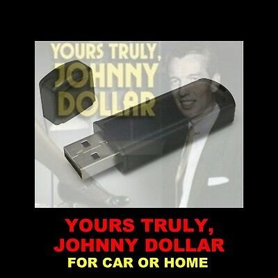 Yours Truly Johnny Dollar Flash Drive. 728 Old-Time Radio Shows For Car Or Home!