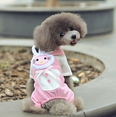 New cute Pet Coat Dog Winter Clothes Puppy Cat Sweater Clothing Apparel Costume