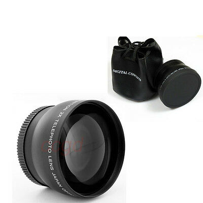 72mm TELE 2X/2 TELEPHOTO Lens for PENTAX DSLR DC Digtial Camera with 72MM Thread