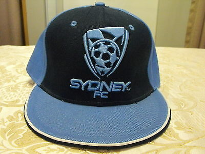 Sydney FC Snap Back Flat Brim Cap Soccer/Football League (A-League)