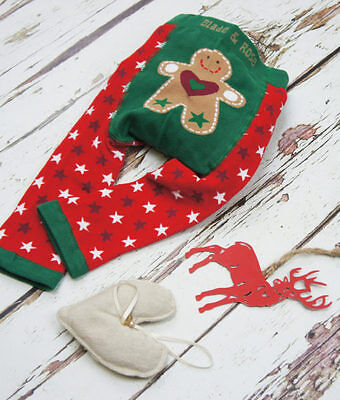 Blade and Rose Gingerbread Baby Leggings - Christmas  0-6, 6-12, 1-2 & 2-3 Years