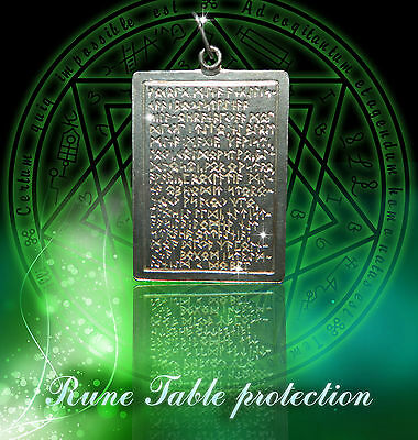 Unique Sterling Silver Talisman Table Protection CA