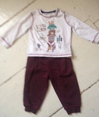 Baby Boys Jogger And Long Sleeve T Shirt 9-12 Months