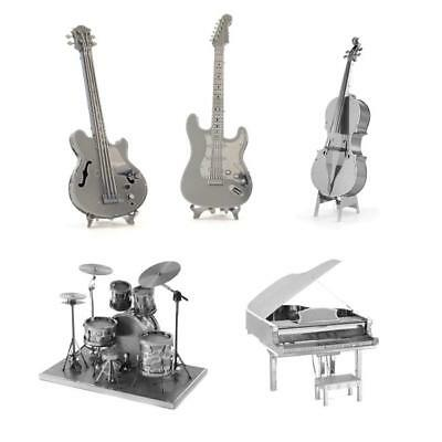 Instruments Cool 3D Metal Model Puzzle No Glue Jigsaw Laser Cut Assembly Toys Z