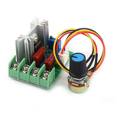 AC50V-220V 2000W 25A SCR Constant Voltage Motor Speed Controller LED Dimmers AM