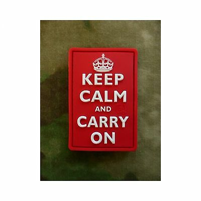 Keep Calm and Carry on Patch, fullcolour