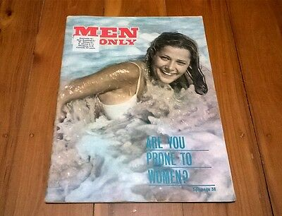 Vintage Men Only 1960s Collectable Mens Magazine