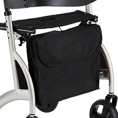 Replacement shopping bag for walker rollator walking frames with X shaped frame