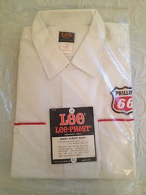 Vintage New Old Stock Phillips 66 Work Shirt