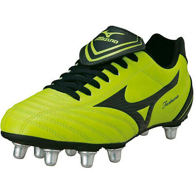 Mizuno Fortuna 4 Rugby Boots SG (Lime/Black) RRP £55