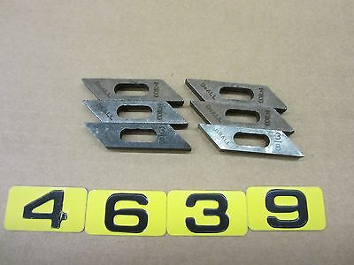 """Do-All 3/8"""" Blade Guides Lot Of 6   Doall"""