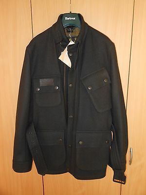 BNWT Mens Barbour International Wool Coat / Jacket - Size 36 / XS