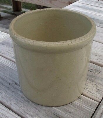 Vintage Stoneware One Gallon Pickle Crock Jar,  Nice!