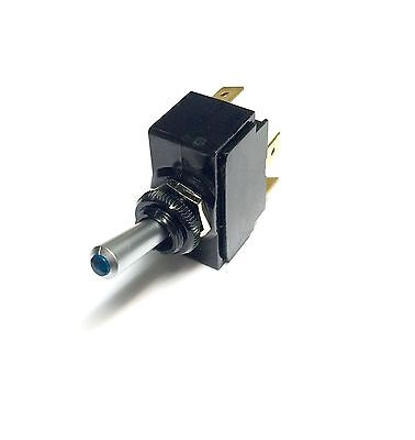 Toggle Switch ON/OFF SPST Blue lighted Tip Toggle Switch, Carling Technologies