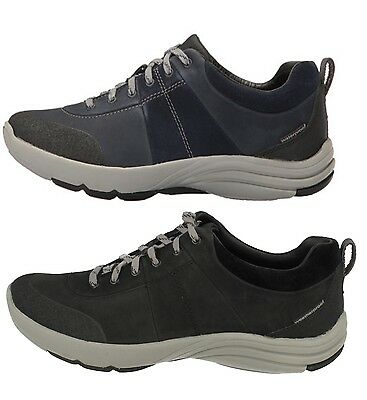 CLARKS Wave Andes Ladies Leather Trainer Style Shoe