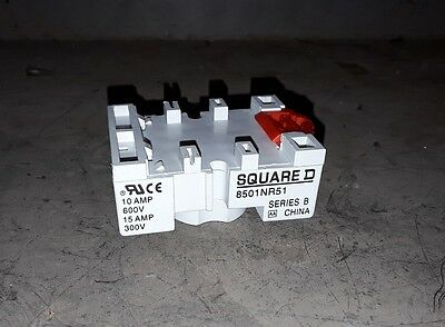 Square D, Schneider Electric Relay Socket, 8501Nr51