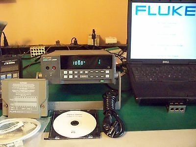 Fluke Hydra 2625A / 2645A Complete System CALIBRATED