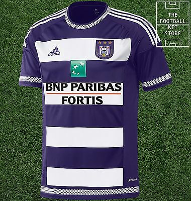 Anderlecht Home Shirt - Official Adidas Football Shirt - Mens - All Sizes