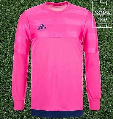 Adidas Entry Goalkeeper Shirt - Padded Elbows - GK Football Jersey - Mens