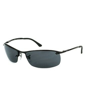 Ray-Ban RB3183 002/81 Black Frame Polarized Grey Gradient 63mm Lens Sunglasses