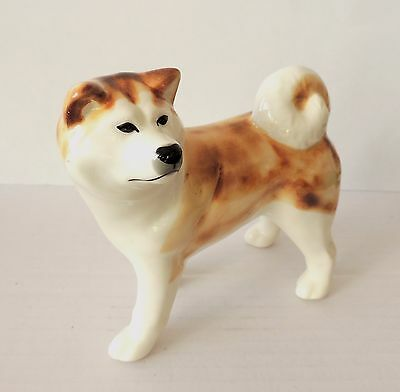 Akita dog figurine NEW Author's Porcelain figurine + Gift Box