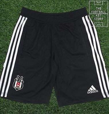 Besiktas Training Shorts - Official Adidas Turkish Football Shorts - All Sizes