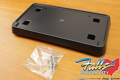 68144511 68144511AD 68144511AC License Plate Bracket Front New for Jeep 14-18