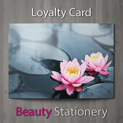 Loyalty Card Beauty Salon Hairdressing Spa Make Up Therapist A7