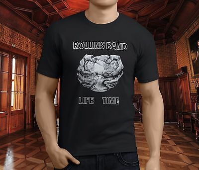 New Rollins Band Come In And Burn Album Cover Men/'s Black T-Shirt Size S to 3XL