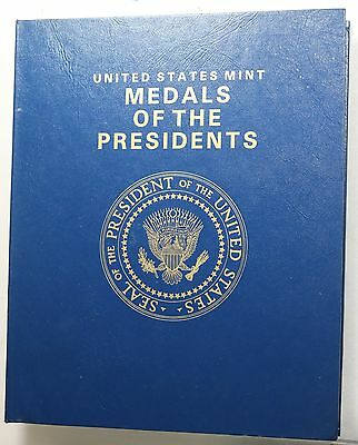 United States Mint Medals of the Presidents Washington to Bush Jr. Copper Medals