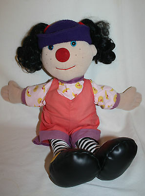 LOONETTE Clown Doll Big Comfy Couch PLUS 24 Songs Sealed Plush Large 20 Inch