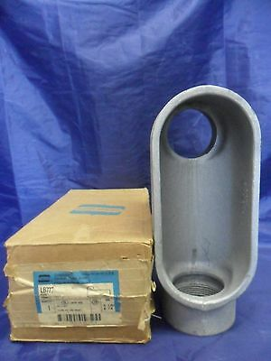 "New Crouse Hinds LB777 2 1/2"" Conduit Outlet Body Form 7 NIB"