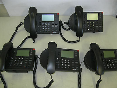 Lot Of 5 Shoretel 230 Ip Phones,  2 No Stands