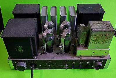Vintage Power Supply Military Radio US  Stancor Transfomers (UPDATED PICS)