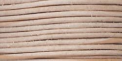 Round Leather Lace 1mmX25yd Spool Natural RL2510-0102