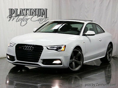 2014 Audi S5 2dr Coupe Automatic Prestige 1 Owner - Clean Carfax - Prestige - Black Optic - Comfort Pkg - Fully Serviced