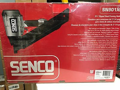 "Senco SN901XP Professional 3-1/4"" Framing Nailer (Clipped-Head)"